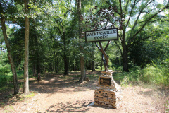 Art in the Park is located in Watkinsville Woods city park.